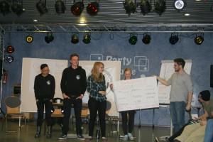 "Das BundessprecherInnenteam ""Live on stage"""