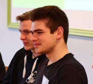Bundessprecher Elia neben Bundessprecher Paul